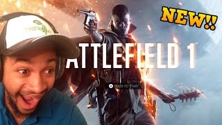 BIGGEST COD NOOB PLAYS BATTLEFIELD 1! BATTLEFIELD 1 REACTIONS