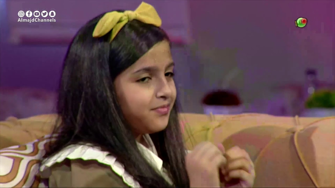 شبكة المجد:موهبة بنات   أسيل وجنى الغامدي وموهبة التمثيل