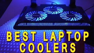 Top Laptop Coolers Reviewed - Cooler Master, Targus, Thermaltake and Havit