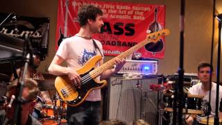 snarky puppy bass solo michael league bass bash 2014