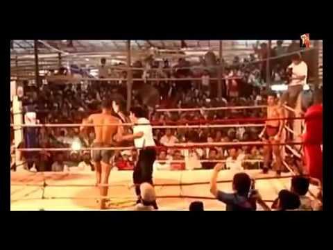 MYANMAR LETHWEI vs MUAY THAI Too Too vs Yodkonkai