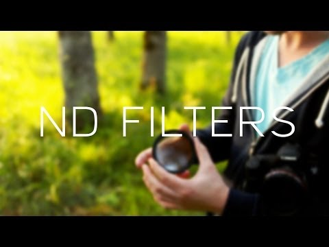 DSLR Videography Tips // ND Filters, Shoot Wide Open Outside