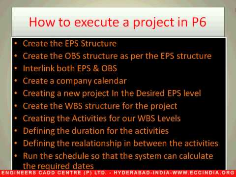 2. Executing a Project