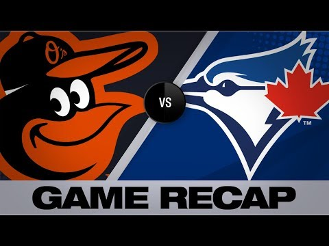 Tellez's 2 Homers Lift Blue Jays Past O's   Orioles-Blue Jays Game Highlights