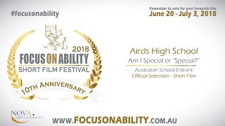 Airds High School - Am I Special or