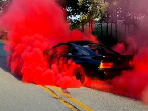 240sx Red Burnout Youtube