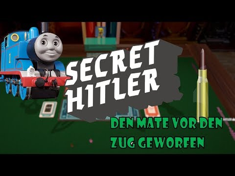 Den Mate vor den Zug geworfen ~Let's Play Tabletop Simulator: Secret Hitler~ #10 Deutsch German