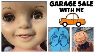 Garage Sale With Me for Resale on Ebay & Etsy - Reselling Online - Estate Sale Ride Along 2019