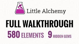 Little Alchemy FULL WALKTΗROUGH [All 580 Elements]