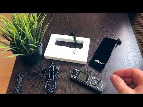 Тест диктофона Ritmix RR-989