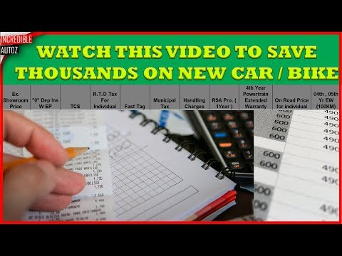 save money in buying cars and bikes | Price List Explanation | Incredible Autoz
