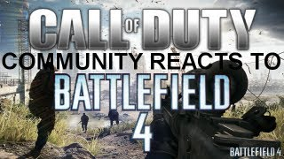cod community reacts to battlefield 4