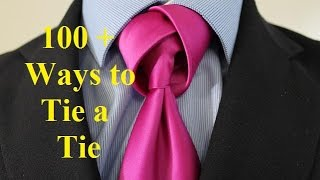 How To Tie a Tie   Tulip Knot
