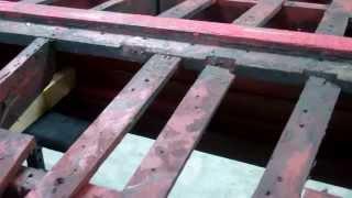 '46 Gar Wood Ensign Deconstructing The Bottom Framing 10 4 13
