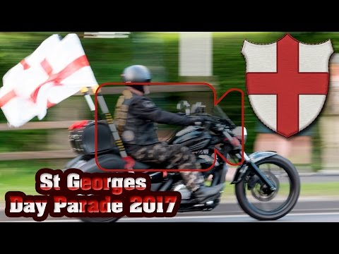 Worlds Largest Unofficial St Georges Day Parade 2017