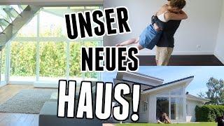 Erste Eindrücke vom neuen Haus: Unsere Reaktion, Schlüsselübergabe und Tränen - Vlog 135
