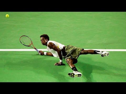Worlds Most Amazing Tennis Trick Shots HD
