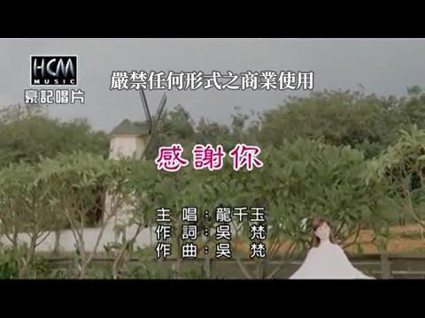 龍千玉-感謝你【KTV導唱字幕】