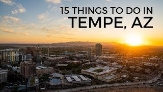 15 Things to do in Tempe, Arizona YouTube Videos