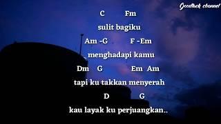 Mawar De Jongh - Lebih dari Egoku (chord gitar)