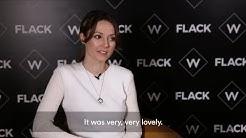 Lydia Wilson interview for W's Flack | Virgin Media