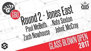 Glass Blown Open 2017 presented by Dynamic Discs - Round 2 LIVE - McBeth, Sexton, McCray, Newhouse thumbnail