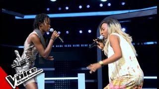 Intégrale Jannelie vs Céline Les Battles   The Voice Afrique Francophone 2017