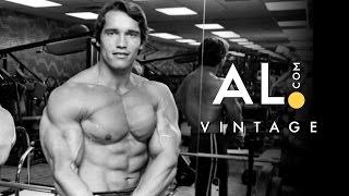 Arnold Schwarzenegger leads mob of muscle men through Birmingham, AL