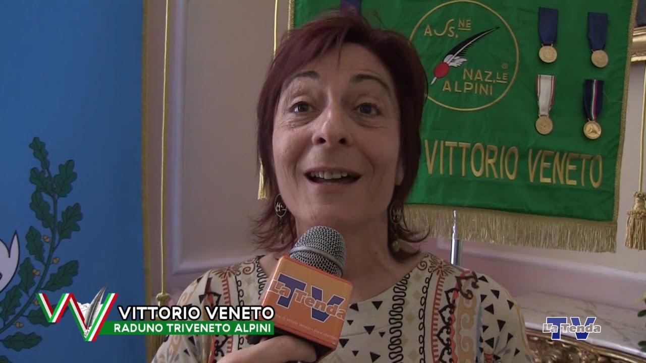 Raduno Triveneto Alpini - Intervista a Laura Simeoni