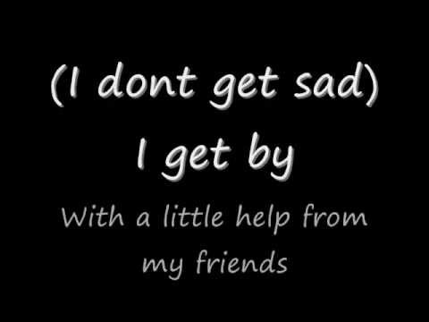Shinedown - With a Little Help from my Friends (Joe Cocker/Beatles cover/lyrics)