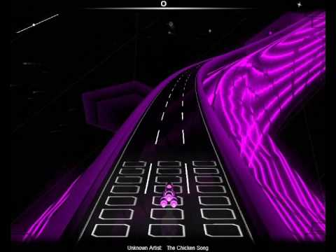 Audiosurf - Spitting Image - The Chicken Song