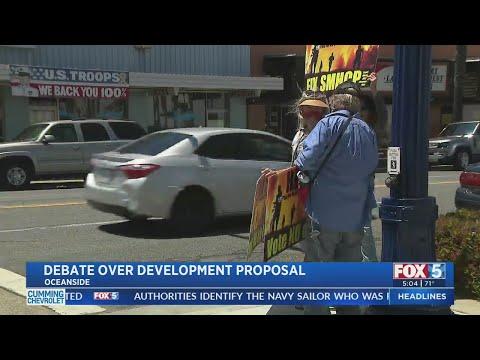Oceanside Residents Protest Development Proposal