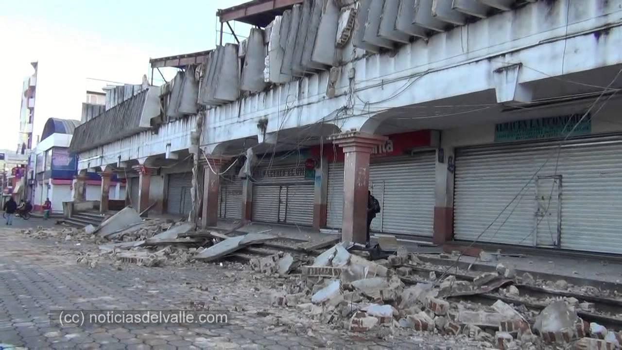 Camaras De Seguridad Captaron El Terremoto Del 7 De Julio San Marcos Guatemala Youtube