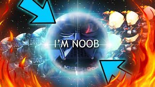 "*NEW MEGA SPLIT TROLLING!* ""I'M NOOB""! //Gota.io Mega Split Trolling! - Yhiita"
