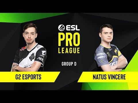 CS:GO - G2 Esports Vs. Natus Vincere [Overpass] Map 1 - Group D - ESL EU Pro League Season 10