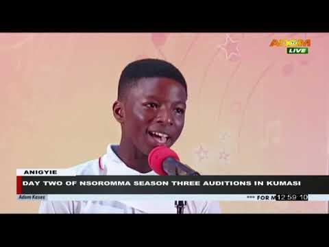 Day 2 of Nsoromma Season 3 auditions in Kumasi - Premotobre Kasee on Adom TV (8-10-20)