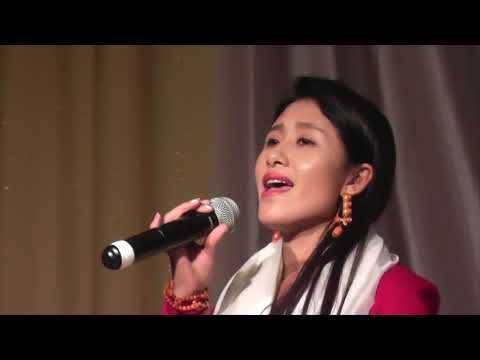 "Lumo Tso, the one of Tibetan talented singer's song, ""Piwang Tyrol Shin"""