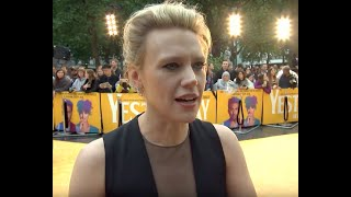 Yesterday Movie Premiere - Kate Mckinnon Interview