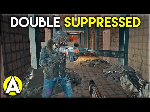DOUBLE SUPPRESSED - PLAYERUNKNOWN\'S BATTLEGROUNDS Duo Gameplay (Stream Highlight)
