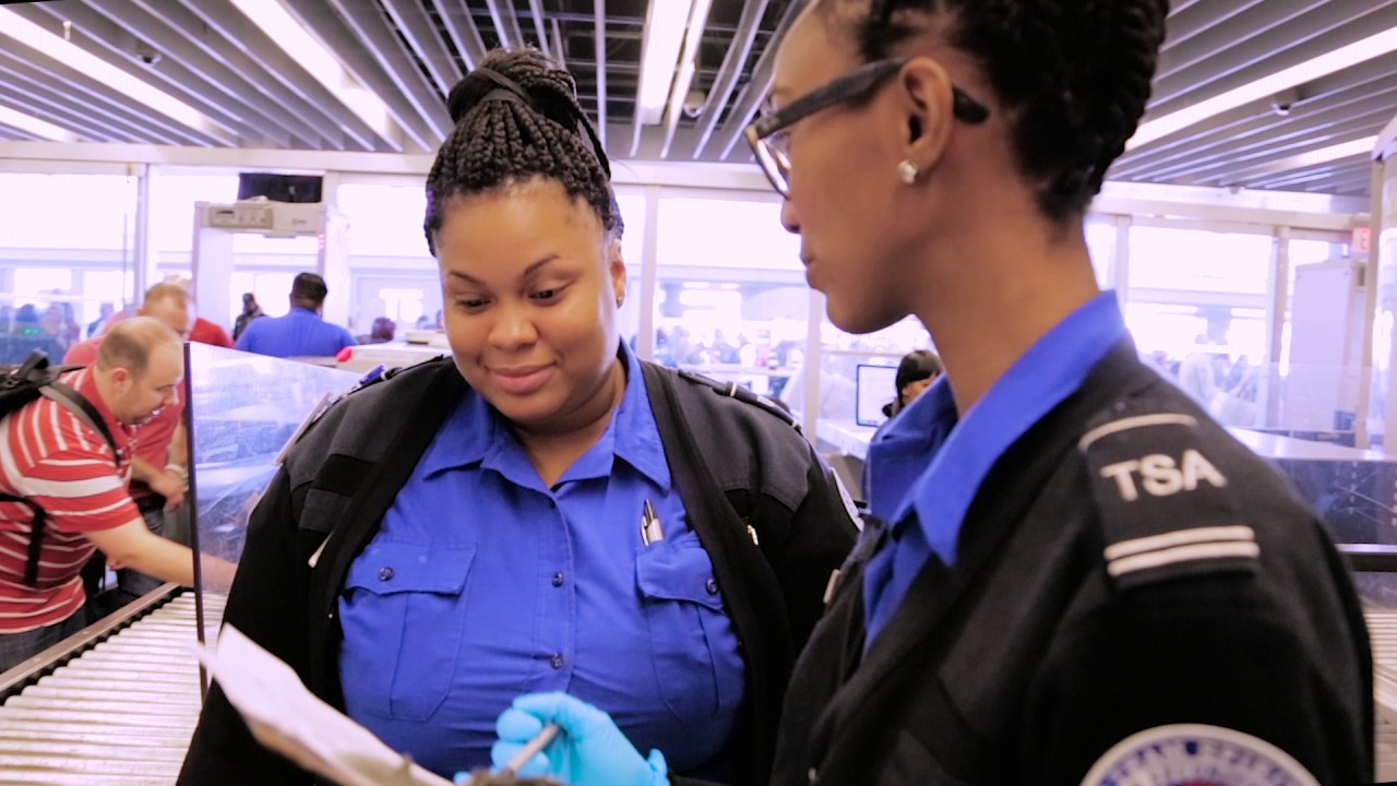 tsa on the job lead transportation security officer