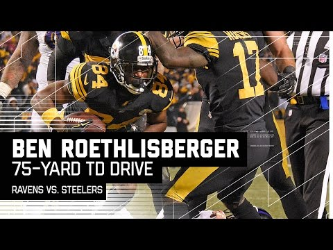 Ben Roethlisberger Leads Epic Game-Winning Drive! | Ravens vs. Steelers | NFL Week 16 Highlights