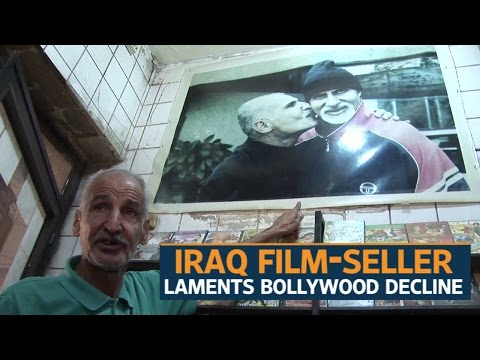 Iraq film-seller laments Bollywood decline