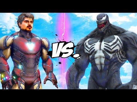 Iron Man Tony Stark VS Venom - EPIC BATTLE