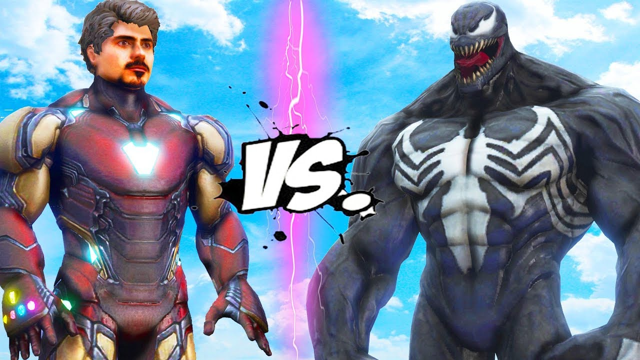 Iron Man (Tony Stark) VS Venom - EPIC BATTLE