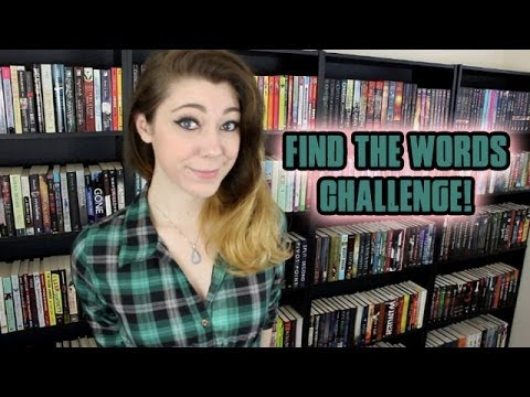 FIND THE WORDS CHALLENGE!