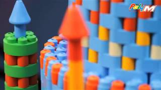 Полі-м м'які і гнучкі будівельні блоки - висока якість, Зроблено в Німеччині