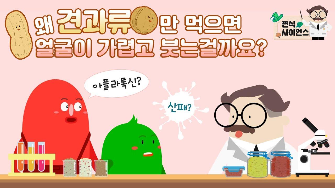 [편식사이언스] 땅콩만 먹으면 얼굴이 가려워요!