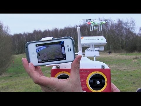 DJI Phantom 2 Vision #03 - Erster Flug (Deutsche Version)