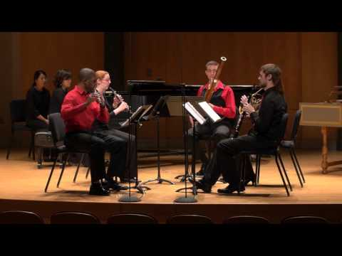 Sextet for Piano and Wind Quintet, Op. 100 - Poulenc, Francis - I. Allegro vivace