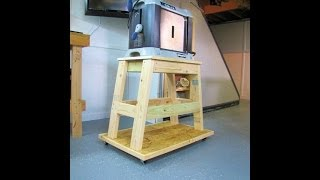 My Surface Planer Stand With 2x4 & Osb -not A Build Video
